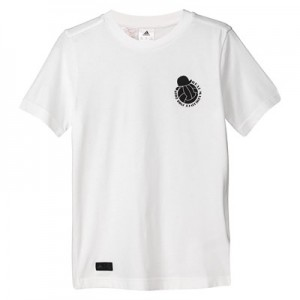 Real Madrid Graphic T-Shirt - White - Kids