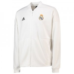 Real Madrid ZNE Home Anthem Jacket - White