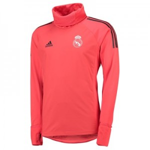 Real Madrid UCL Training Warm Top - Red