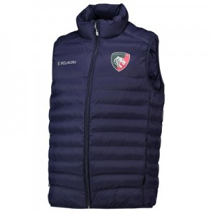Leicester Tigers Down Gilet - Navy - Mens