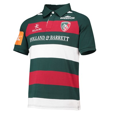 Leicester Tigers Home Classic Jersey Short Sleeve 2018/19 - Junior