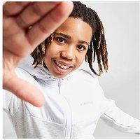 McKenzie Adley Poly Full Zip Hoodie Junior - Grey - Kids