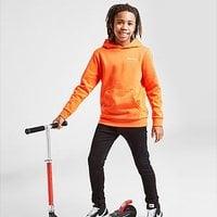Champion Small Logo Hoodie Junior - Orange - Kids