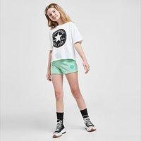 Converse Girls' Overdyed Shorts Junior - Green - Kids