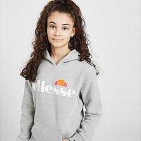 Ellesse Girls' Isobel Overhead Hoodie Junior - Grey - Kids