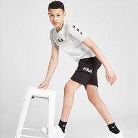 Fila Kobe French Terry Cargo Shorts Junior - Black - Kids