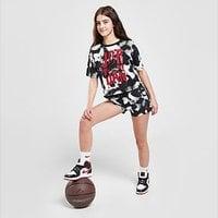 Jordan Girls' Tie Dye Shorts Junior - Black - Kids