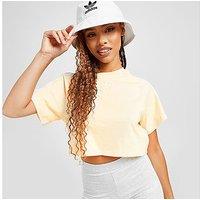 adidas Originals 3-Stripes Essential Crop T-Shirt - Yellow