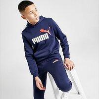 Puma Core Logo Hoodie Junior - Navy - Kids