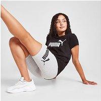 Puma Girls' Essential Logo Cycle Shorts Junior - Grey - Kids