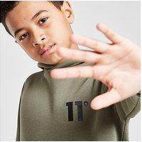 11 Degrees Core Fleece Overhead Hoodie Junior - Green - Kids