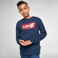 Levis Batwing Crew Sweatshirt Junior - Blue - Kids