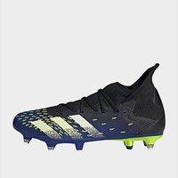 adidas Predator Freak.3 Soft Ground Boots - Core Black  - Mens