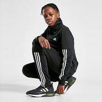 adidas Team Poly Tracksuit Junior - Black  - Kids