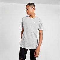 Nike Small Logo T-Shirt Junior - Grey - Kids