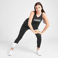 Puma Girls' Fitness Runtrain Tank Top Junior - Black - Kids