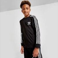 adidas Originals California Long Sleeve T-Shirt Junior - Black  - Kids