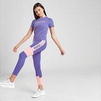 Puma Girls' Runtrain Tights Junior - Purple - Kids