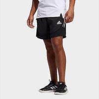 adidas AEROREADY 3-Stripes Slim Shorts - Black