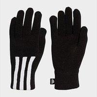 adidas 3-Stripes Conductive Gloves - Black