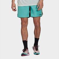 adidas Terrex Primeblue Trail Running Shorts - Acid Mint