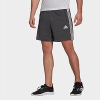 adidas Primeblue Designed To Move Sport 3-Stripes Shorts - Grey Six
