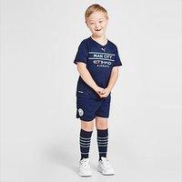 Puma Manchester City FC 2021/22 Third Kit Children - Navy - Kids