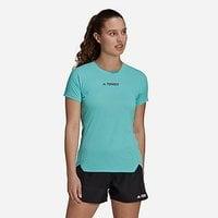 adidas Terrex Parley Agravic Trail Running All-Around T-Shirt - Acid Mint