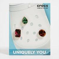 Crocs 3-Pack Gem Jibbitz Charms - Multi Coloured - Womens