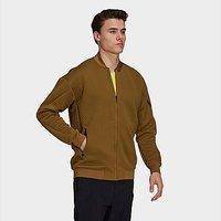 adidas Terrex Hike Fleece Jacket - Brown Malt - Mens