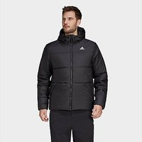 adidas BSC Insulated Hooded Jacket - Black - Mens