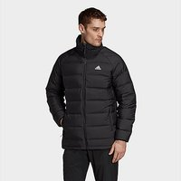 adidas Helionic Mid-Length Down Jacket - Black - Mens