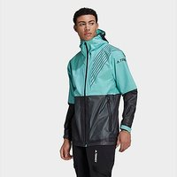 adidas Terrex 3-Layer Zupahike Rain Jacket - Acid Mint  - Mens