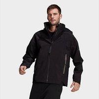 adidas MYSHELTER Rain Jacket - Black  - Mens
