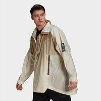 adidas MYSHELTER Parley WIND.RDY Anorak Jacket - Cream White  - Mens