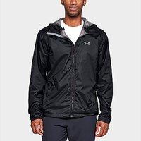 Under Armour forefront rain jacket - Black - Mens