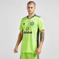 adidas Celtic FC 2020/21 Away Goalkeeper Shirt - Grey - Mens