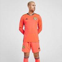 adidas Scotland 2020 Away Goalkeeper Shorts - Signal Coral  - Mens