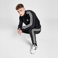 adidas Primegreen Essentials 3-Stripes Tracksuit - Black  - Mens
