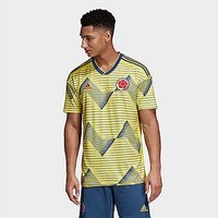 adidas Colombia Home Jersey - Light Yellow