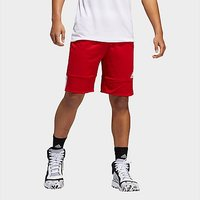adidas 3G Speed Reversible Shorts - Power Red  - Mens