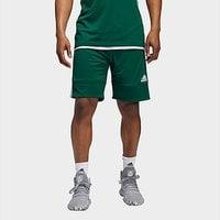 adidas 3G Speed Reversible Shorts - Dark Green  - Mens