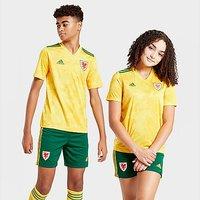 adidas Wales 2020 Away Shirt Junior - Yellow - Kids