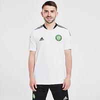 adidas Celtic FC Training Shirt - White - Mens