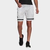 adidas Tennis Club Shorts - White  - Mens