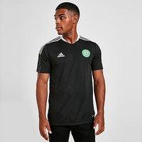 adidas Celtic FC Training Shirt - Black - Mens
