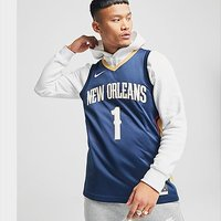 Nike NBA New Orleans Pelicans #1 Williamson SM Jersey - Blue - Mens