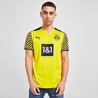 Puma Borussia Dortmund 2021/22 Home Shirt - Yellow - Mens
