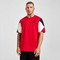 Puma AC Milan Football Culture T-Shirt - Red - Mens