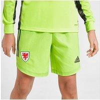 adidas Wales 2020 Home Goal Keeper Shorts Junior - Green - Kids